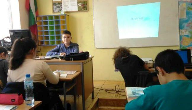 Учениците в ролята на учители